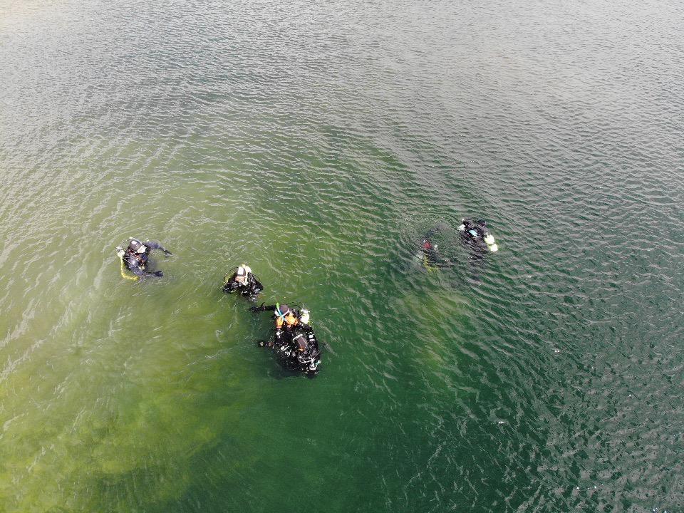 Eindelijk leren duiken