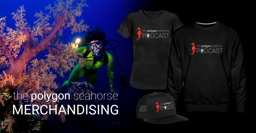 the polygon seahorse merchandising