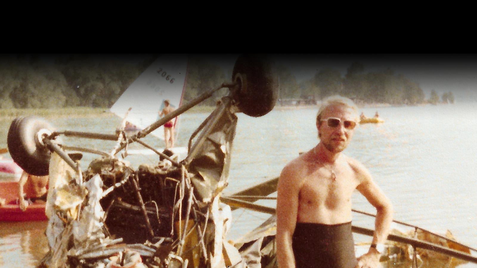 Mijn papa, mijn (duik)held