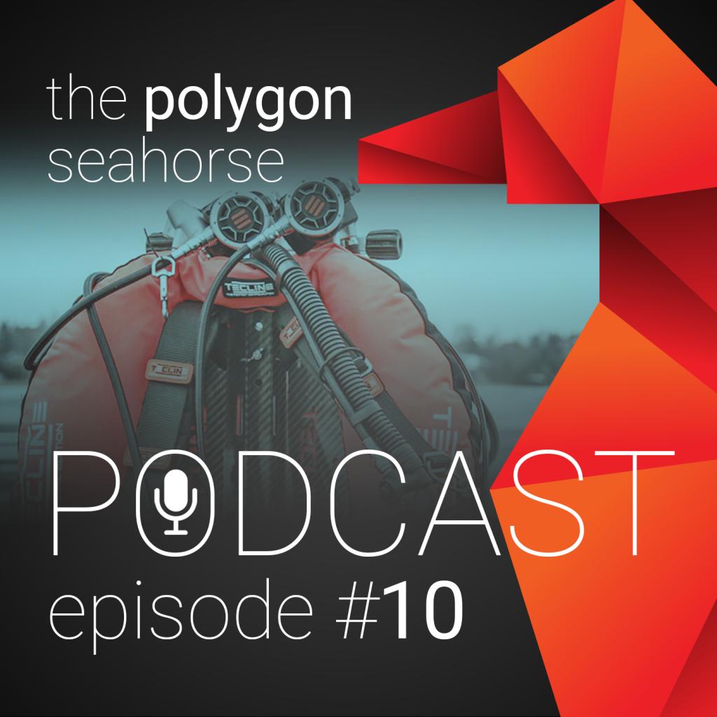 Podcast over duiken met een wing en wrakduiken op Christiaan Huygens