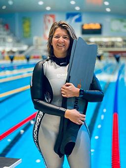 Inge Verbruggen freediving