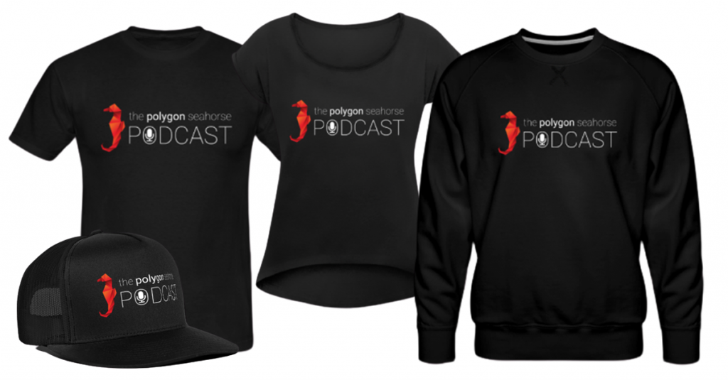 merchandising the polygon seahorse podcast